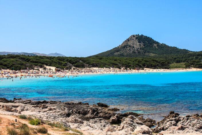 Beaches on the east coast of Mallorca