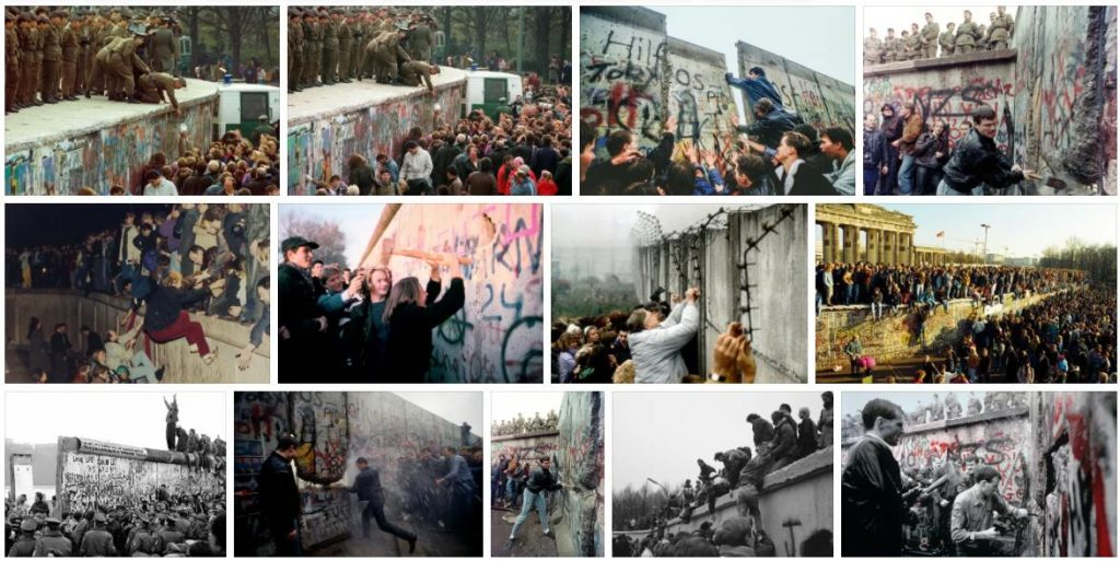 End of the Berlin Wall