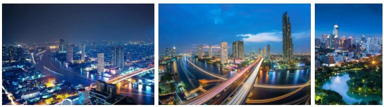 Bangkok, Thailand Arrival and Traffic